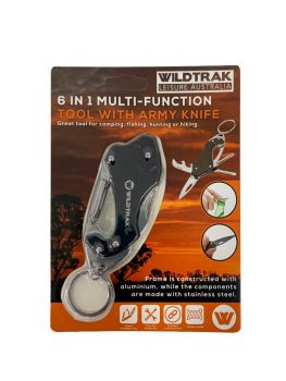 6 IN 1 MULTI TOOL WITH ARMY KNIFE