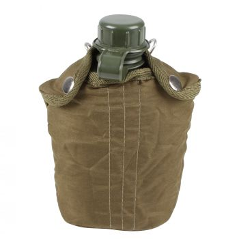 Canteen Army Green 1qt With Cover