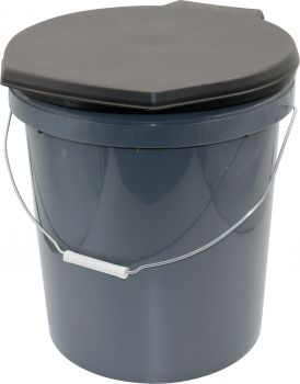 Travel Toilet 20l Bucket With Lid Seat
