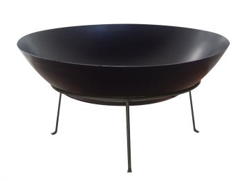 STEEL FIRE PIT 40CM 1.2MM THICKNESS