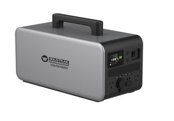 VOLTEX1500 LITHIUM PWR STATION /INVERTER 1500W CONT/PWR 90Ah