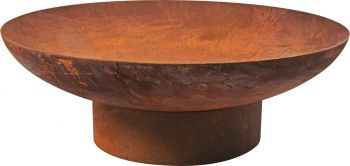 RUST FIRE PIT DIA 70CM 2.2MM THICKNESS
